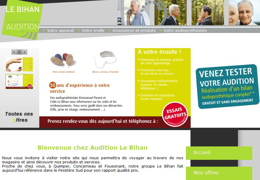 Boutique Audition à Quimper, Fouesnant, Concarneau