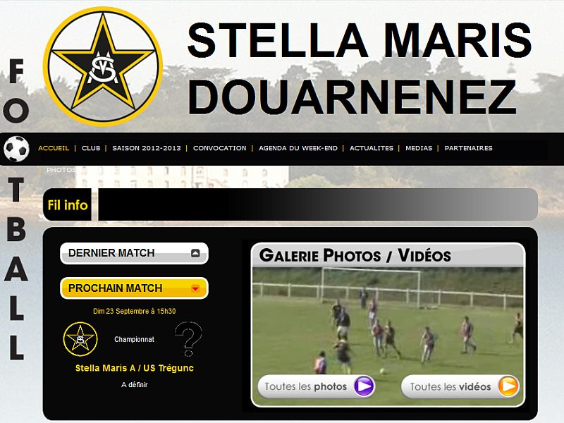 Stella Maris Football Club à Douarnenez